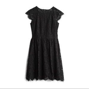 Black Lace Bianca dress Kensie Stitch Fix size 12